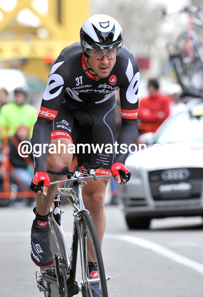 HAYDEN ROULSTON IN THE PROLOGUE OF THE 2009 TOUR OF CALIFORNIA
