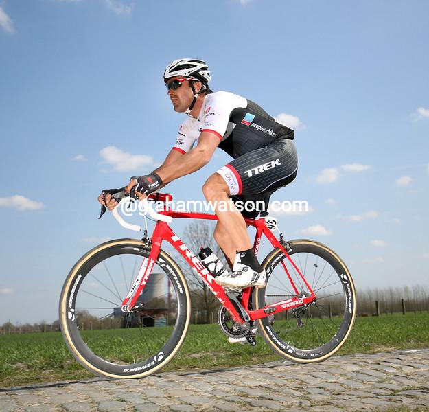 Hayden Roulston in the 2015 Paris-Roubaix