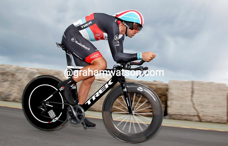 Hayden Roulston on stage seven of the 2013 Tirreno-Adriatico