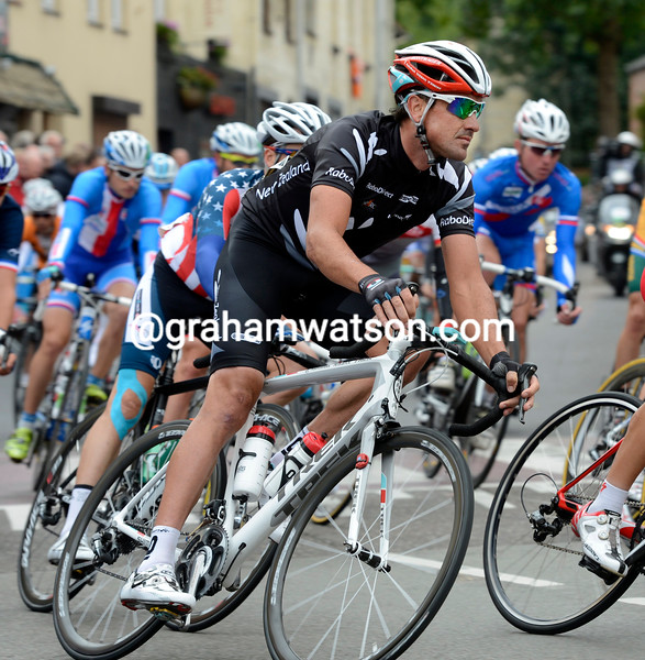 Hayden Roulston in the 2012 road race world championships