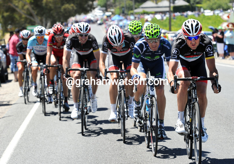 HAYDEN ROULSTON ON STAGE FIVE OF THE 2012 TOUR DOWN UNDER