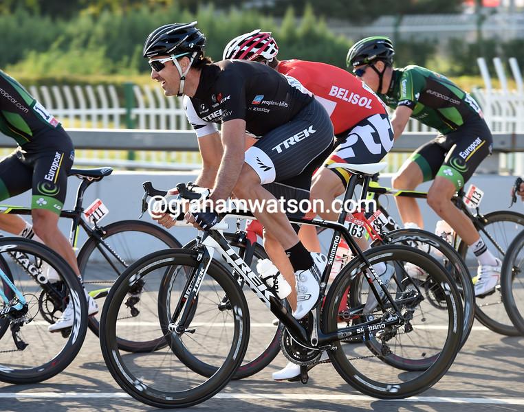 Hayden Roulston on stage five of the 2014 Tour of Beijing