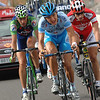 Heinrich Haussler escapes on stage 19 of the 2005 Vuelta a España