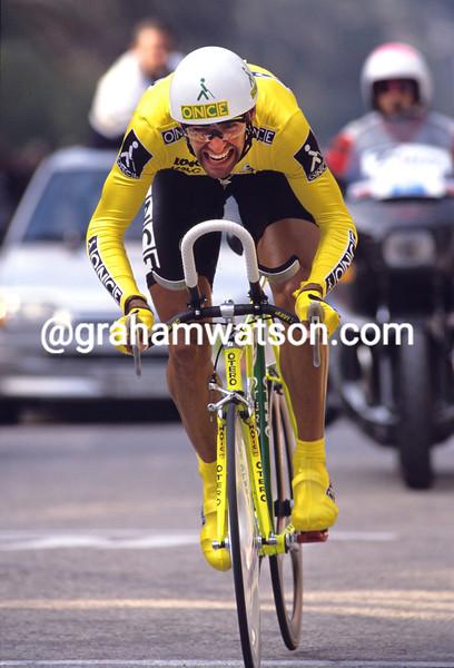 Herminio Diaz-Zabala wins the 1991 Tirreno-Adriatico