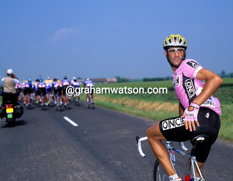 Herminio Diaz-Zabala in the 1992 Tour de France