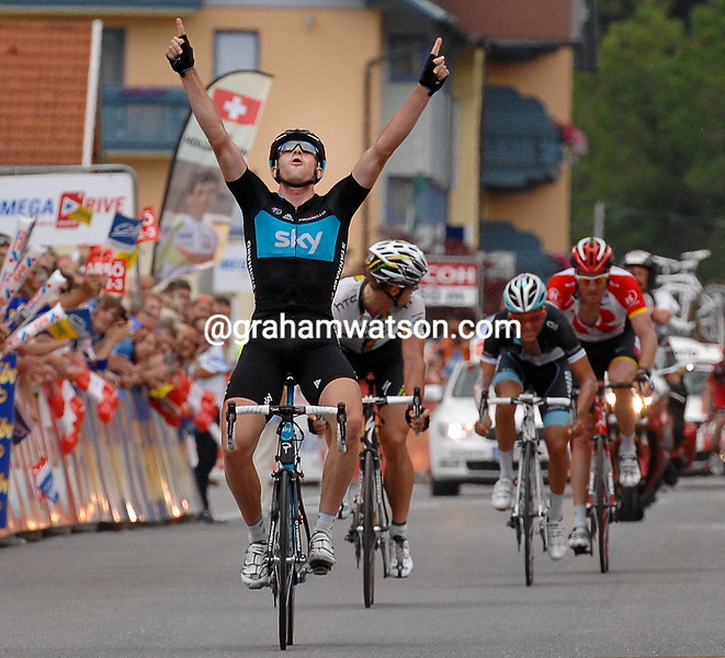 IAN STANNARD WINS STAGE FIVE OF THE TOUR OF AUSTRIA