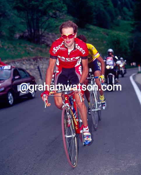 Ivan Gotti in the 1997 Giro d'Italia