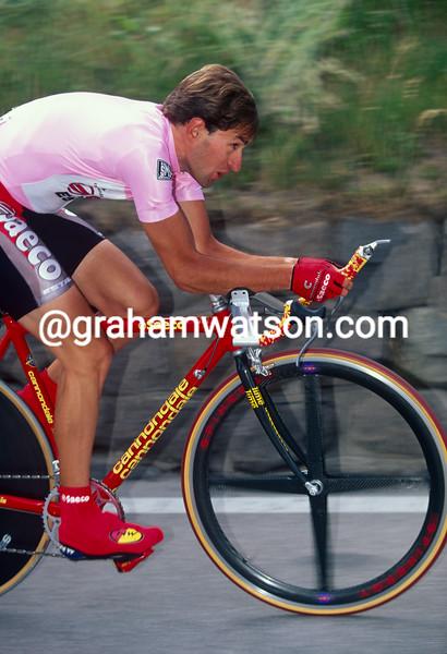 Ivan Gotti on a stage of the 1997 Giro d'Italia