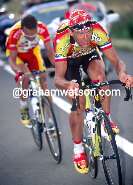 Jacky Durand in the 1999 Tour of Spain