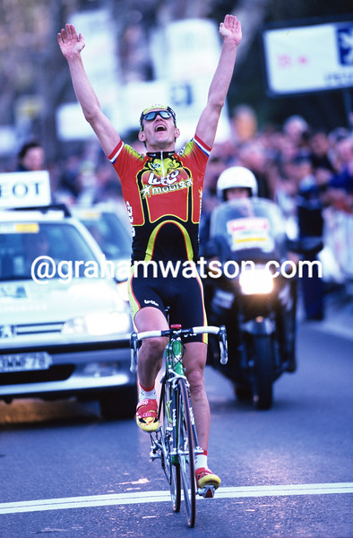 Jacky Durand wins a stage of the 1999 Paris-Nice