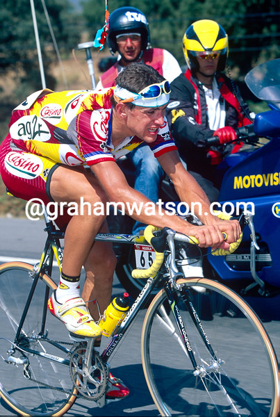 Jacky Durand in the 1997 Tour of Spain