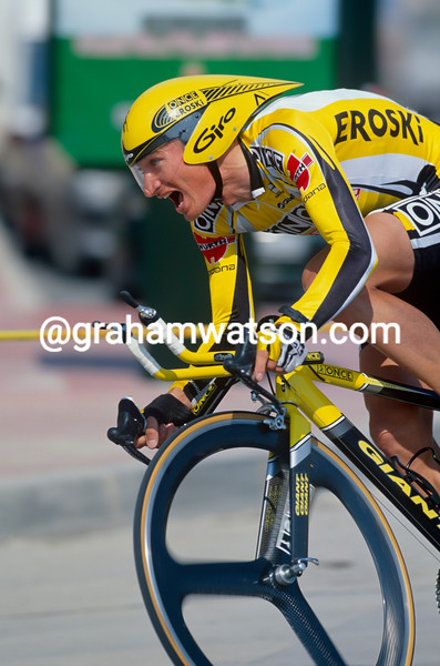Jan Hruska in the 2002 Tour of Murcia