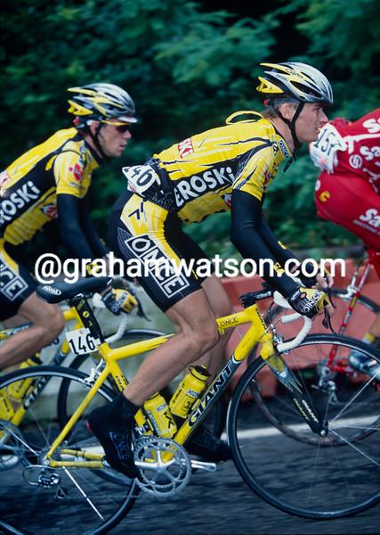Jan Hruska in the 2002 Tour of Switzerland
