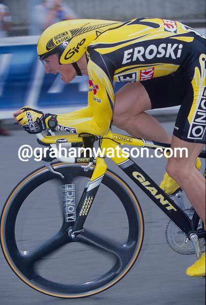 Jan Hruska in the 2003 Vuelta a España