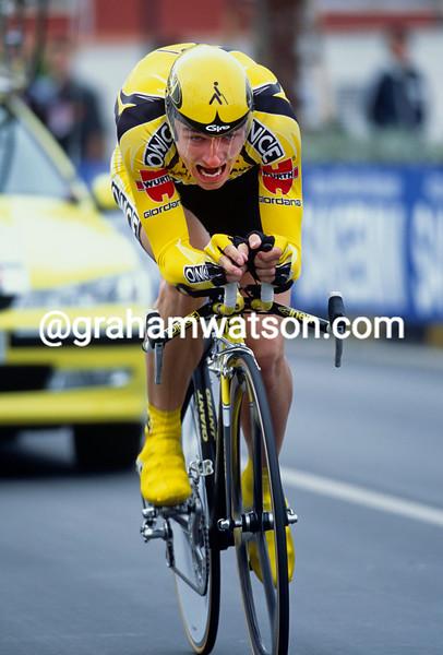 Jan Hruska in the 2001 Giro d'Italia Prologue