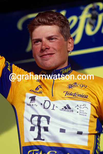 Jan Ullrich in the 1999 Tour of Spain