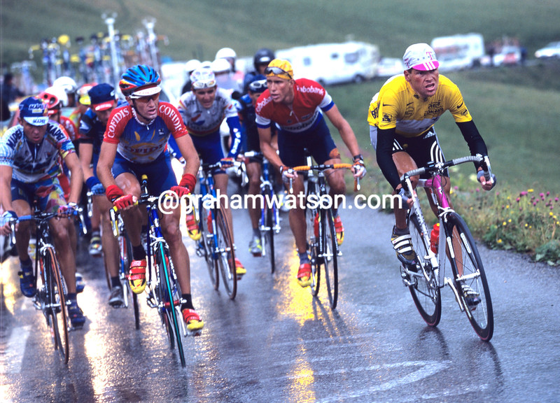 Jan Ullrich in the 1996 Tour de France
