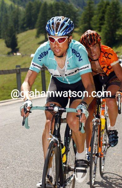 Jan Ullrich in the 2003 Tour of Switzerland