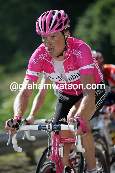 Jan Ullrich in the 2005 Tour de Suisse