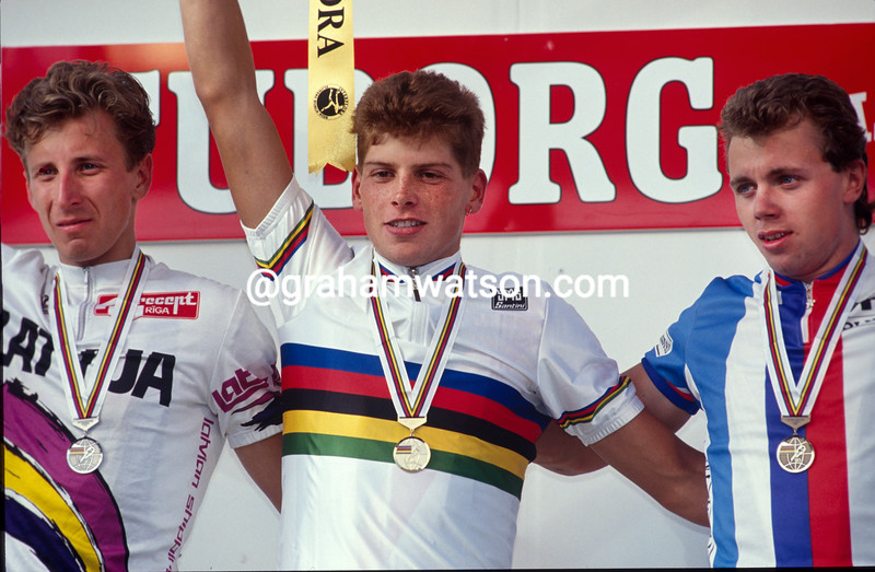 Jan Ullrich in the 1993 U-23 World Championship
