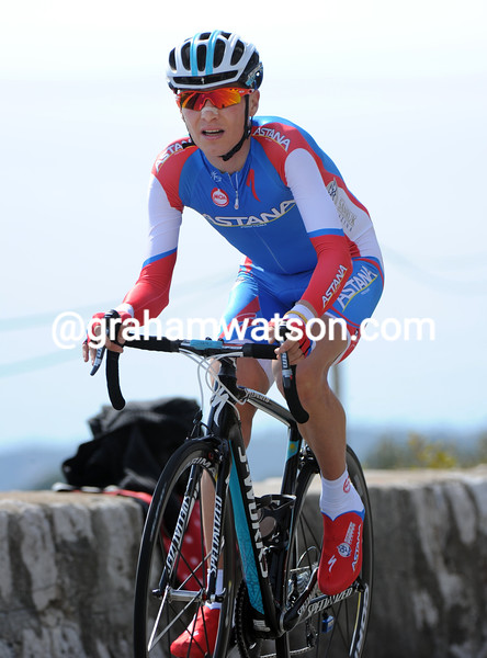 Jani Brajkovic on stage eight of the 2012 Paris-Nice