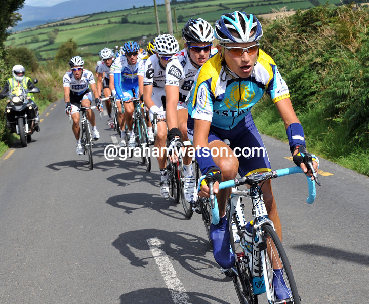 JANEZ BRAJKOVIC ON STAGE ONE OF THE 2009 TOUR OF IRELAND