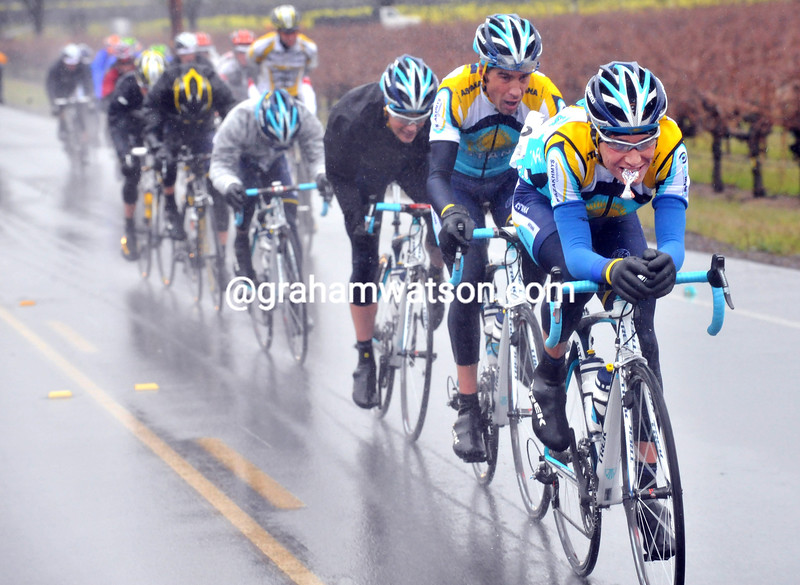 JANI BRAJKOVIC LEADS AN ESCAPE ON STAGE ONE OF THE 2009 TOUR OF CALIFORNIA