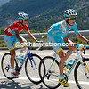 Jani Brajkovic is the only one able to help Nibali chase for now...