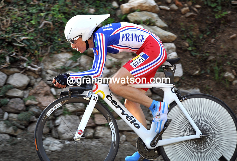 JENNIE LONGO IN THE 2009 WORLD TIME TRIAL CHAMPIONSHIPS