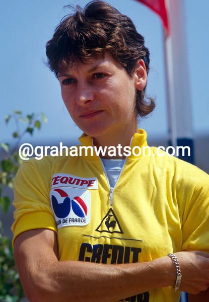 Jeannie Longo in the 1985 Tour Feminin