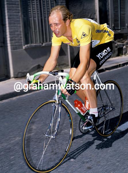 Jelle Nijdam in the 1989 Tour de France