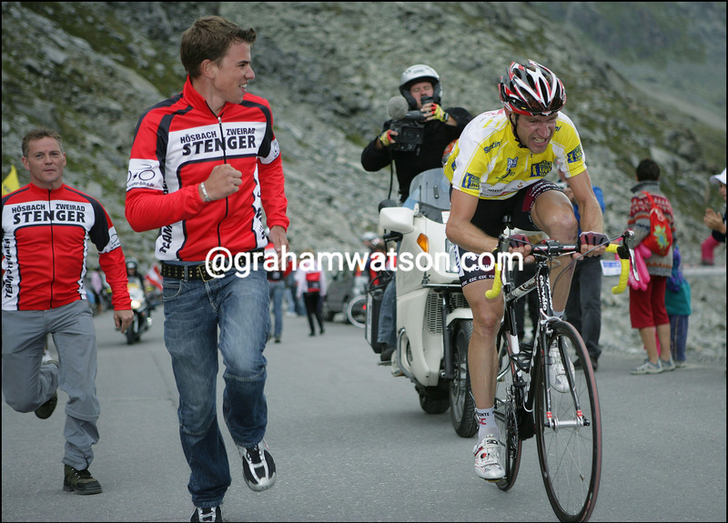 JENS VOIGT ON STAGE FIVE OF THE GERMANY TOUR