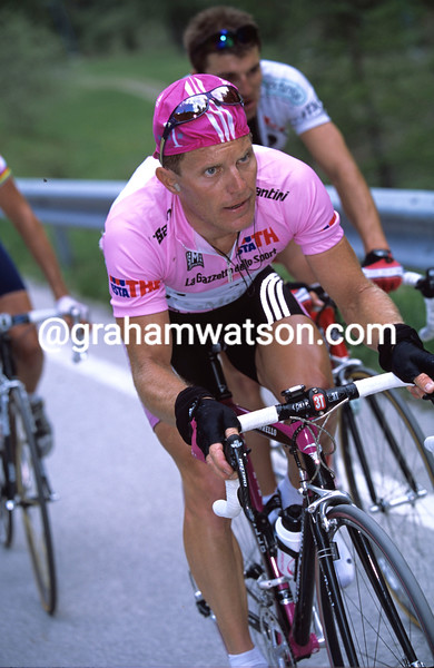 Jens Heppner in the 2003 Giro d'Italia