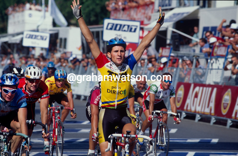 Jeroen Blijlevens in the 1995 Tour of Spain