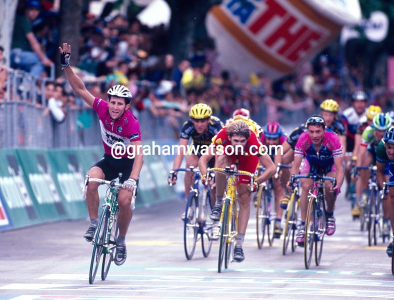 Jeroen Blijlevens in the 1999 Giro d'Italia