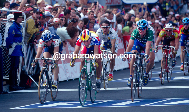Jeroen Blijlevens in the 1995 Tour de France