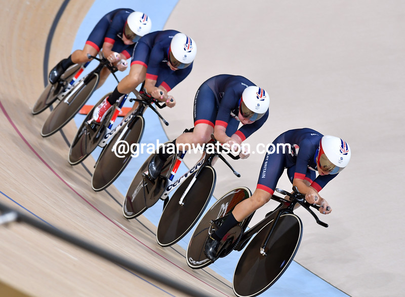 Olympic Games - Track Day 1