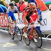 Joaquim Rodriguez attacks Nibali in the 2013 World Championships