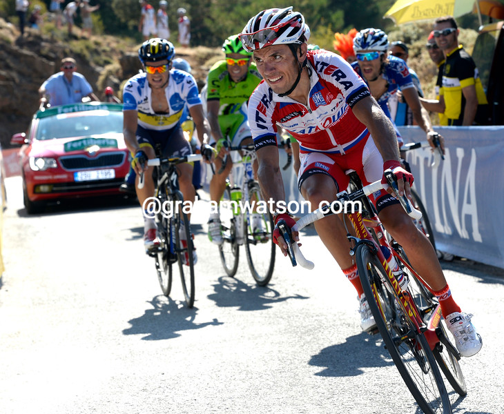 Joaquin Rodriguez on stage ten of the 2013 Tour of Spain