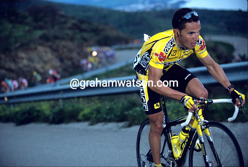 Joaquim Rodriguez in the 2001 Semana Catalana