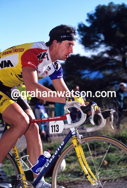 Johan Capiot in the 1991 Tour Mediterranean