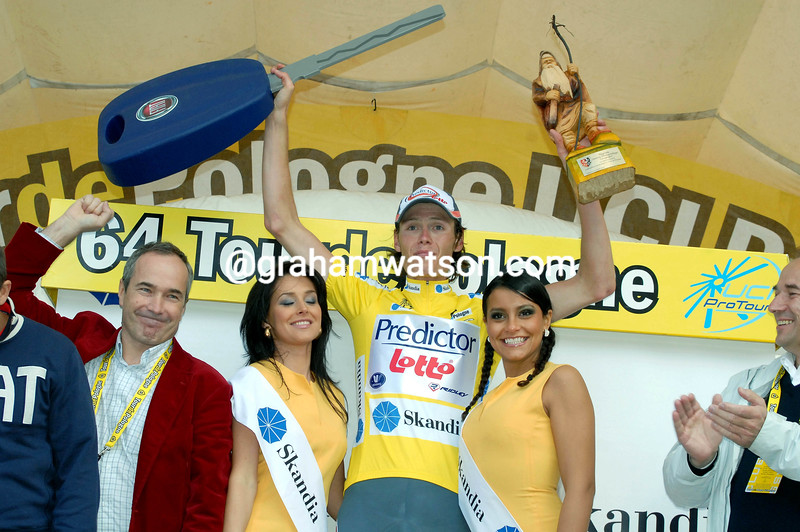 JOHAN VAN SUMMEREN WINS THE FINAL STAGE OF THE 2007 TOUR OF POLAND