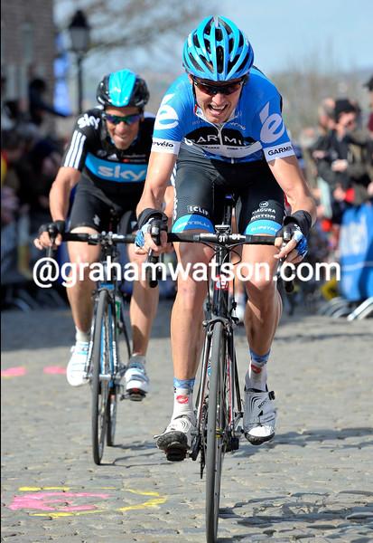 Johan Van Summeren in the 2012 Tour of Flanders