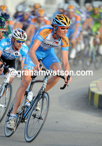 JOHAN VAN SUMMEREN ON STAGE TWO OF THE 2010 TOUR OF OMAN
