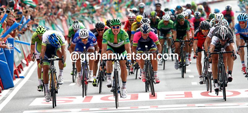 John Degenkolb wins stage seventeen of the 2014 Tour of Spain