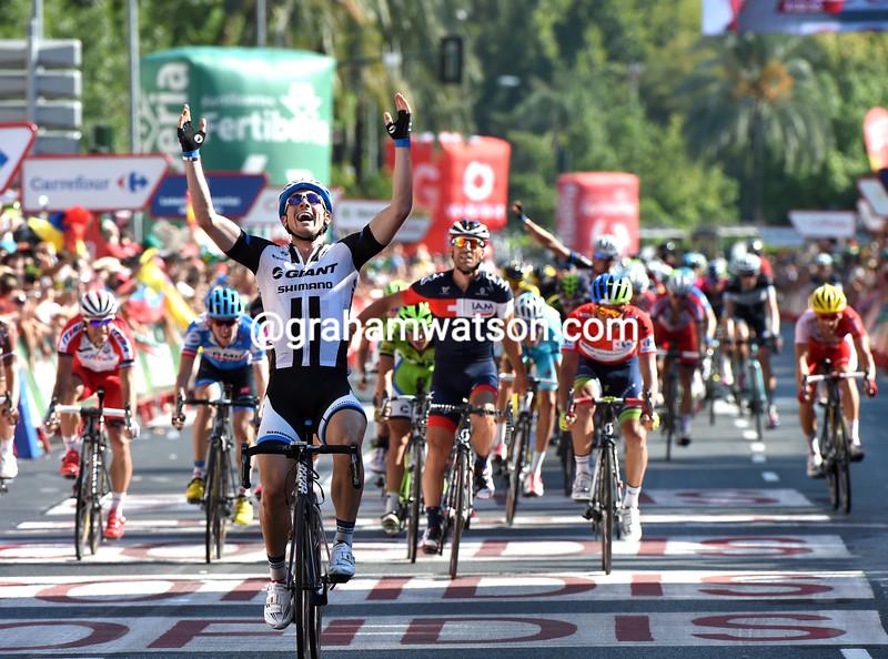 John Degenkolb wins stage four of the 2014 Tour of Spain