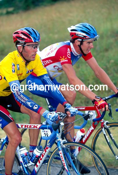Jonathan Vaughters in the 1999 Dauphiné-Libéré