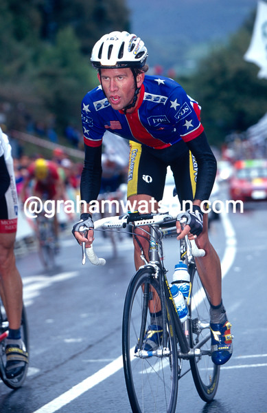 Jonathan Vaughters in the 1998 World Championships