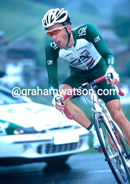 Jonathan Vaughters in the 2001 Dauphiné-Libéré