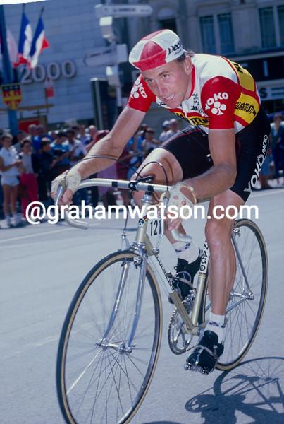 Joop Zoetemelk in the 1984 Tour de France